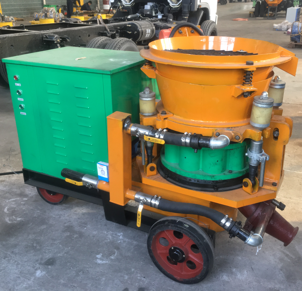 shotcrete -gunite machine