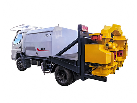 Truck-mounted Shotcrete Machine with Automatic Feeding System HS700*2