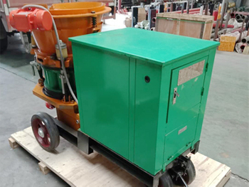 A New PZ7 Dry Shotcrete Machine will be Sent to South Africa