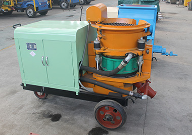 Choose a most cost-efficient concrete spraying machine for your project