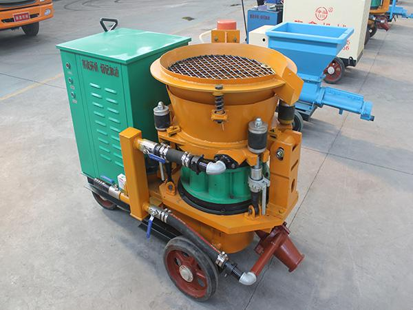 How to debug a new shotcrete machine?