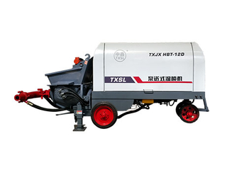 Pump-Type Wet Shotcrete Machine