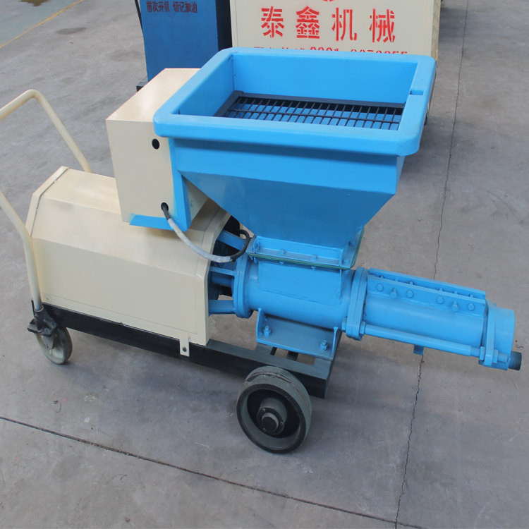 Advantages and price of grout pump with double cylinder and double liquid